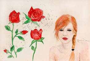 A rose without thorns by Marianne-Art-World