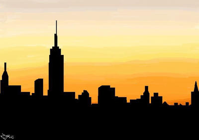 New York City Skyline by Zykic