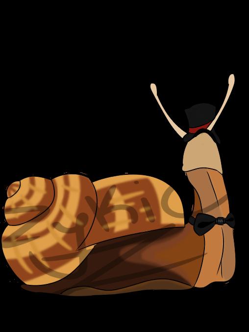 Snazzy Snail by Zykic