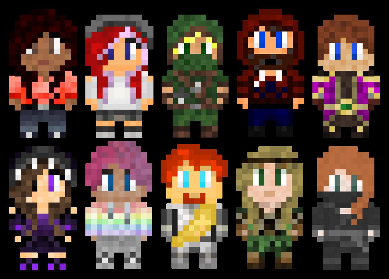 The Squad 8-Bit