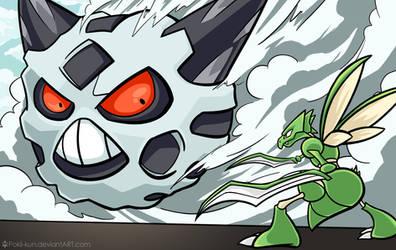 Attack on Glalie [Pokemon x Attack on Titan]