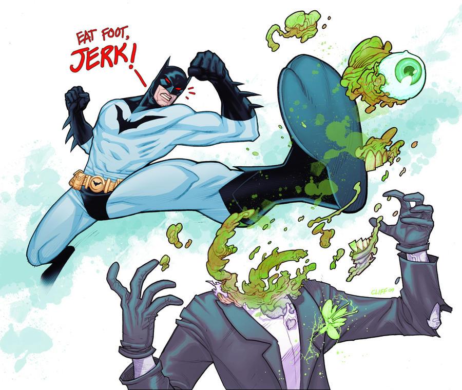 batman vs. joker by cliff-rathburn