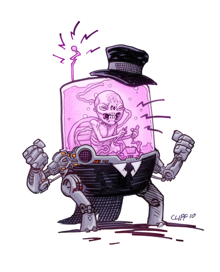 DR. Fetus by cliff-rathburn