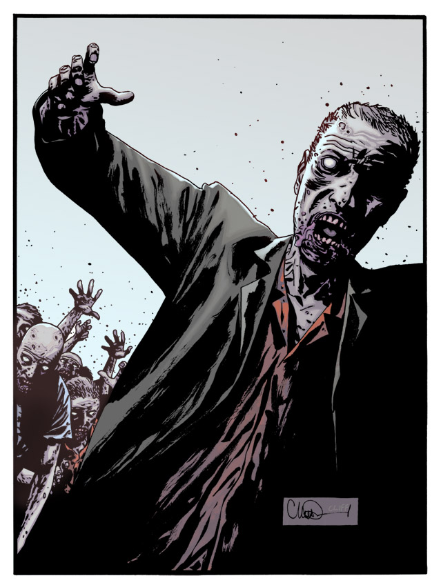 didn't get paid Zombie by cliff-rathburn