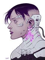 Tech Head by cliff-rathburn