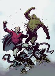 Swamp Hellboy
