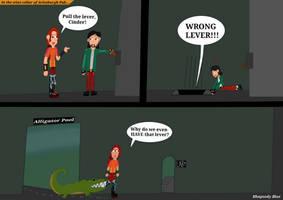 To the Secret Lair! - Human AU Comic