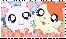 Hamtaro x Bijou Stamp by manknux5667