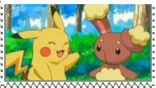 PikachuxBuneary Stamp by manknux5667