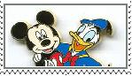 Mickey and Donald Stamp by manknux5667