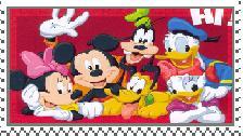 Disney Friends Stamp