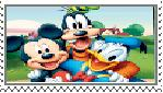 Mickey Donald n' Goofy Stamp by manknux5667