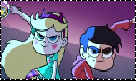 Star and Marco Stamp by manknux5667