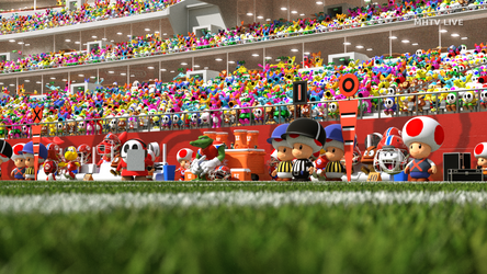 Super Mario Huddle: a look at the sideline by SeGentlyBrokenMan