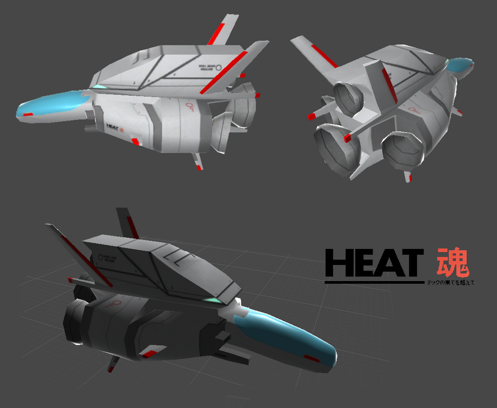 R-9/0 Ragnarok - 3D low poly by HeatPhoenix