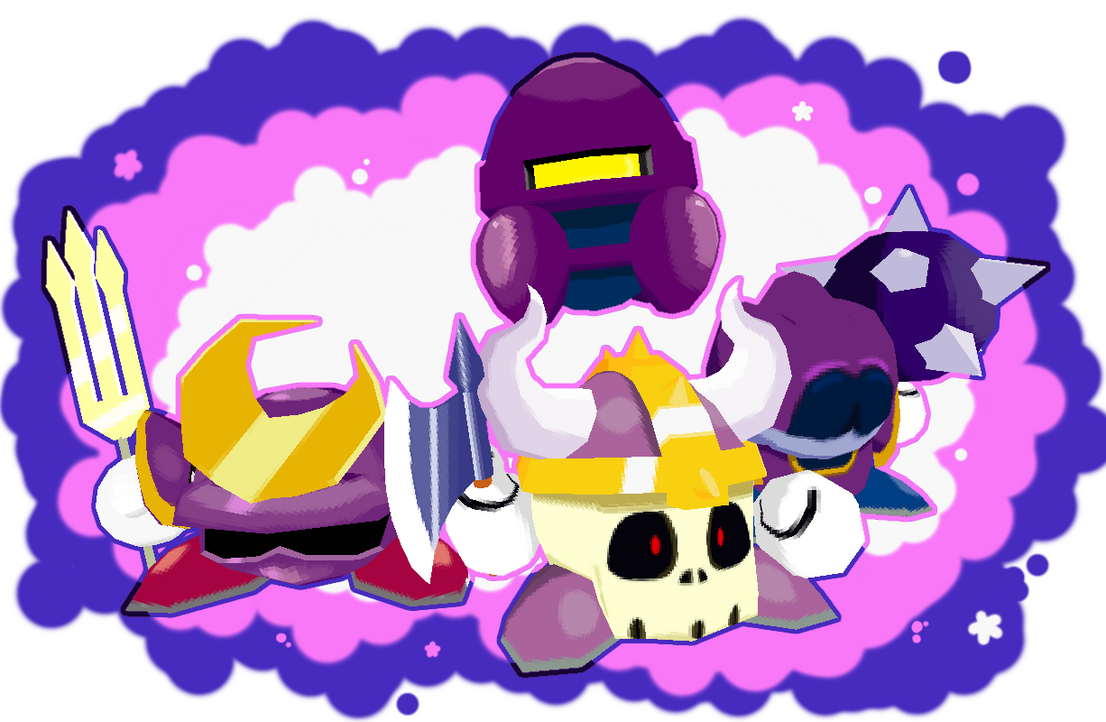 The Meta Knights - 3D Low Poly by HeatPhoenix