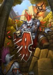 Troll King by PRDart