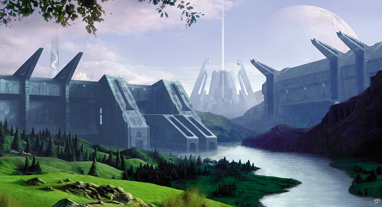 Delta Hills by PRDart