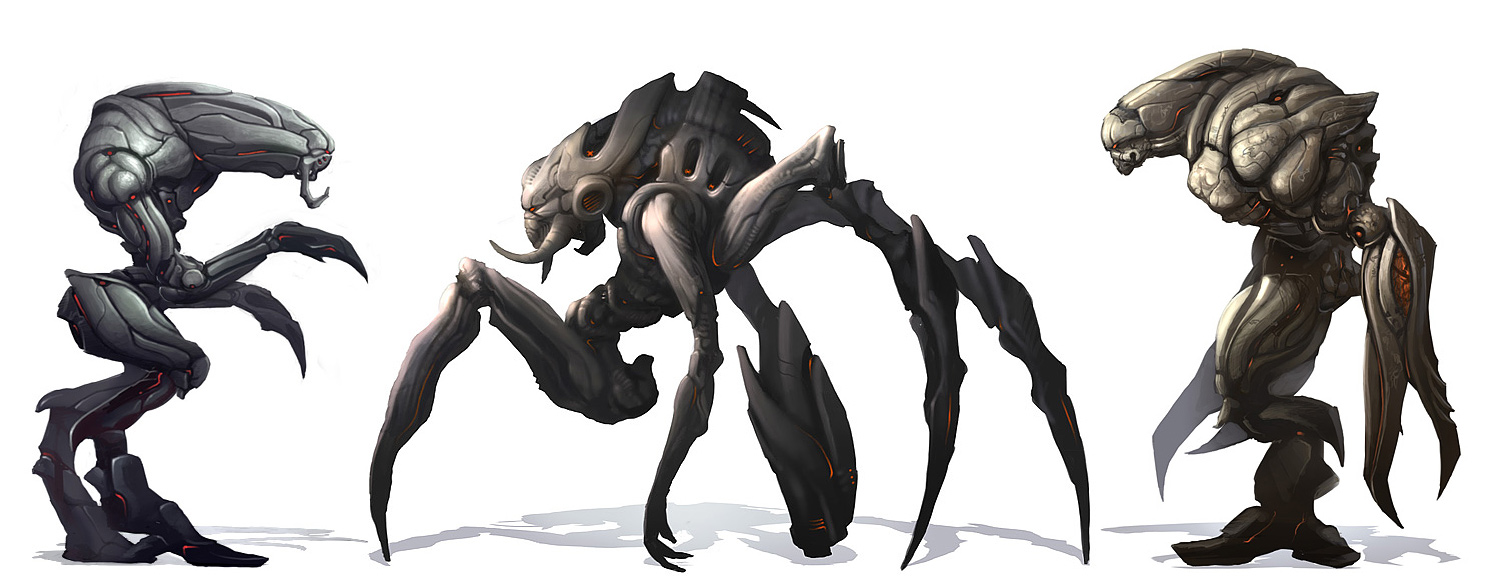Alien Concepts by PRDart