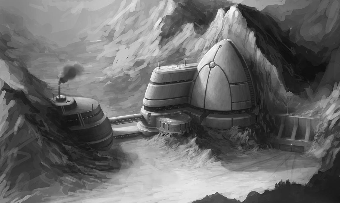 Snow Base 3 by PRDart