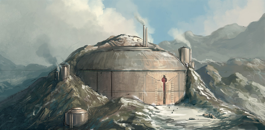 Snow Base 1 by PRDart