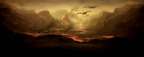 Valley of Embers by PRDart