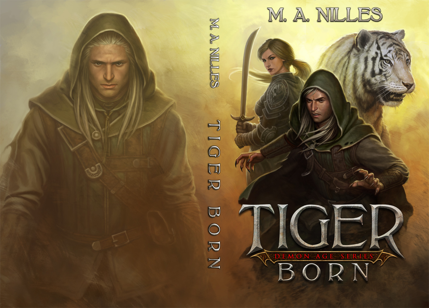 Tiger Born by PRDart