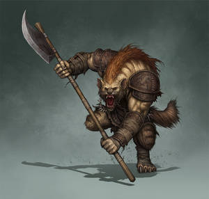 Gnoll illustration for Tellest
