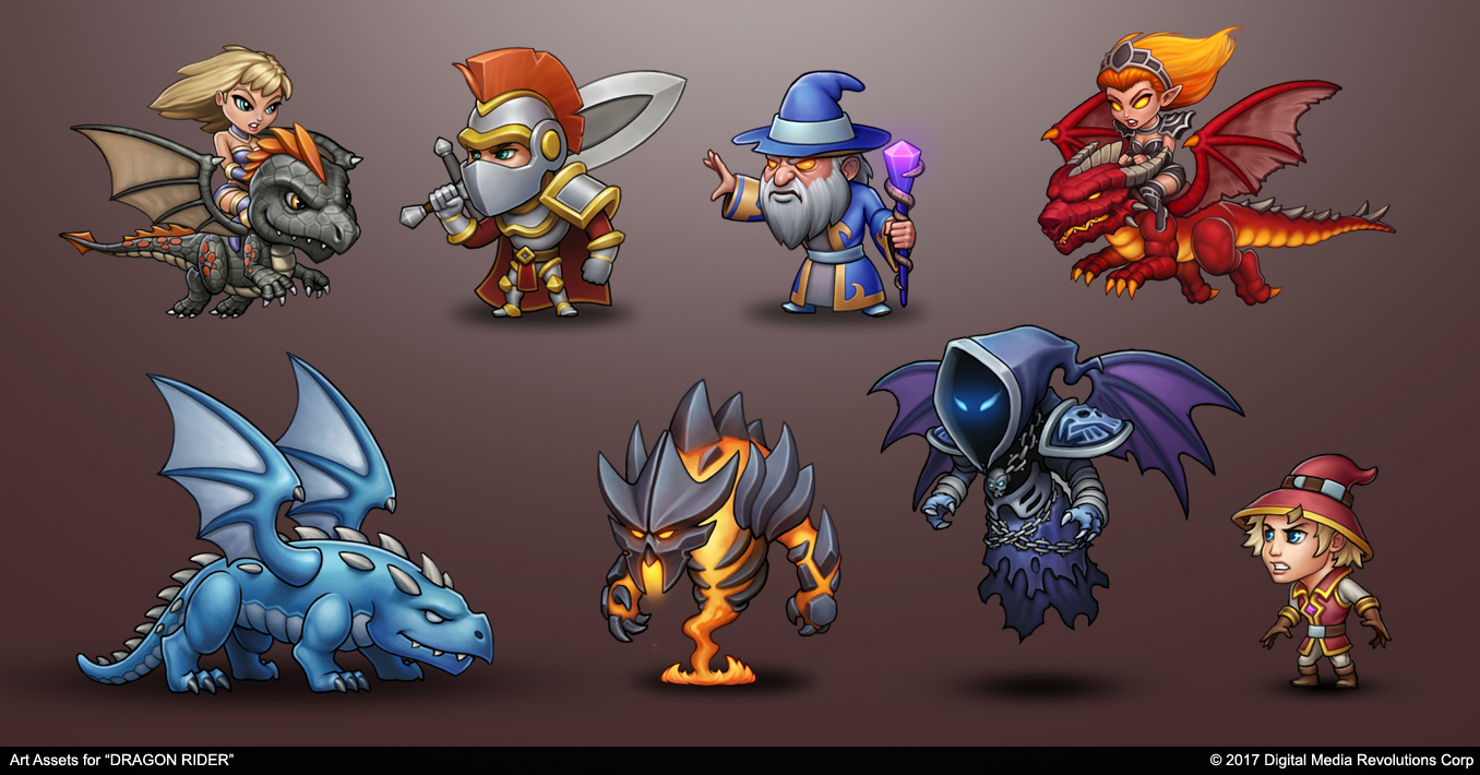 Character Assets by PRDart