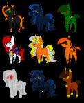 Pony Halloween Adoptables (Open, 1/9)