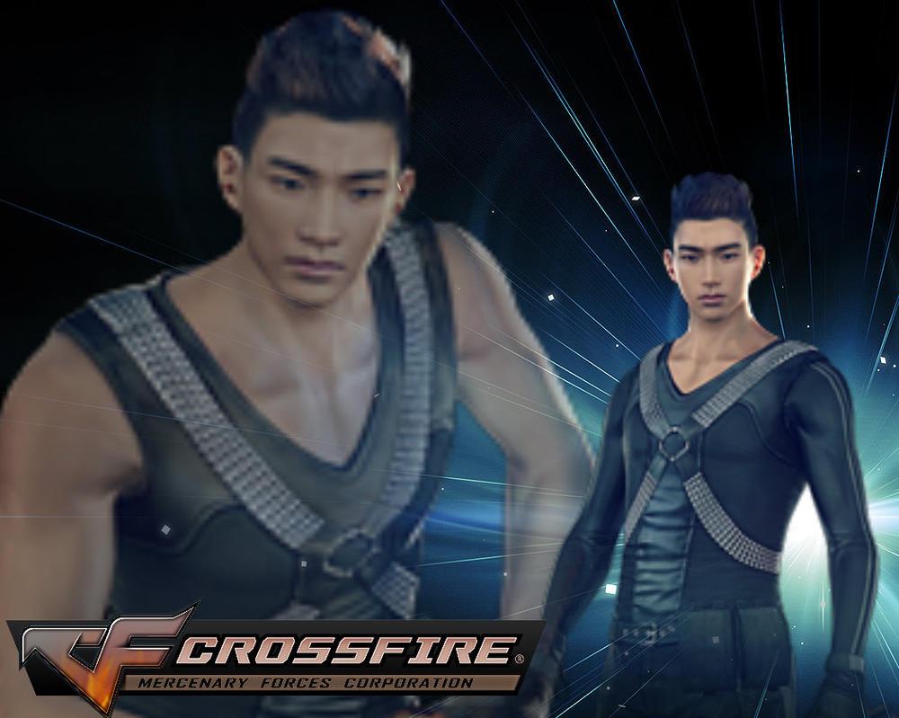 Crossfire Editor - (2PM) Taecyeon Wallpaper by Amethyst2013