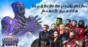 Marvel Future Fight: Thank You Black Panther