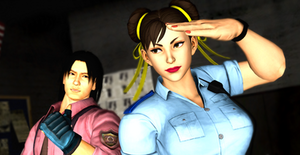 CH11: Lei Wulong ( Tekken) and Chun-Li (SF)