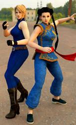 Sarah and Pai Heroine