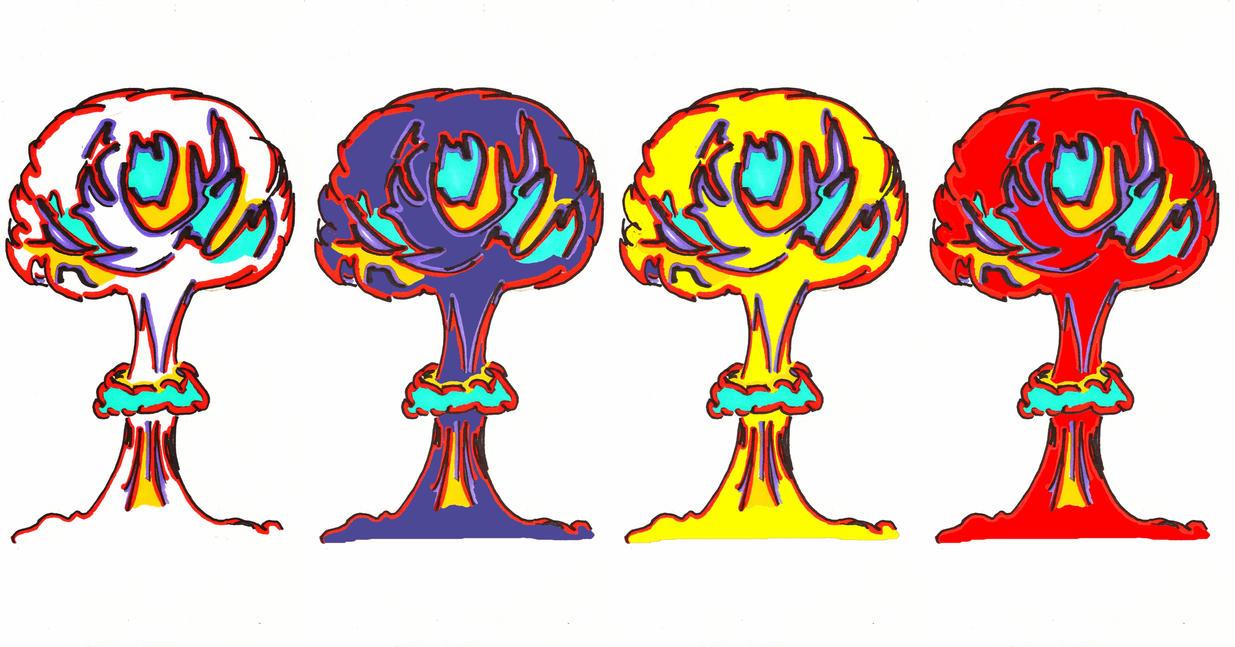 MushroomCloudStudy2 by cameralikeagun