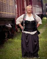 2017 Edmonton Shutterbug Railroad Steampunk Meetup by ExcaliburBlade