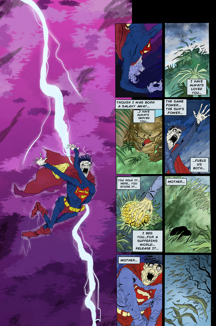 Superman in the Dark Knight Returns by mwehner