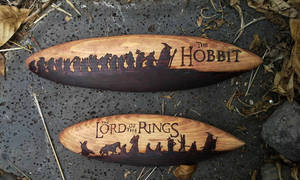 Hobbit and LotR's Surfboards