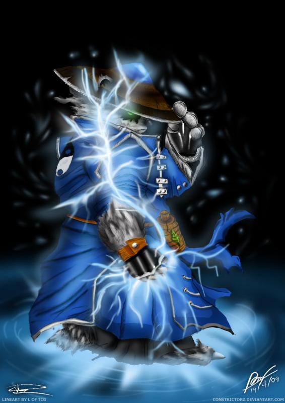 Raijin ThunderkegStorm Spirit By Constrictorz