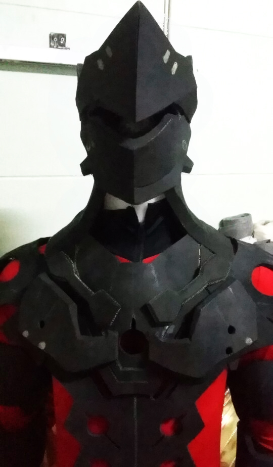 Genji Armor WIP : Overwatch by Constrictorz