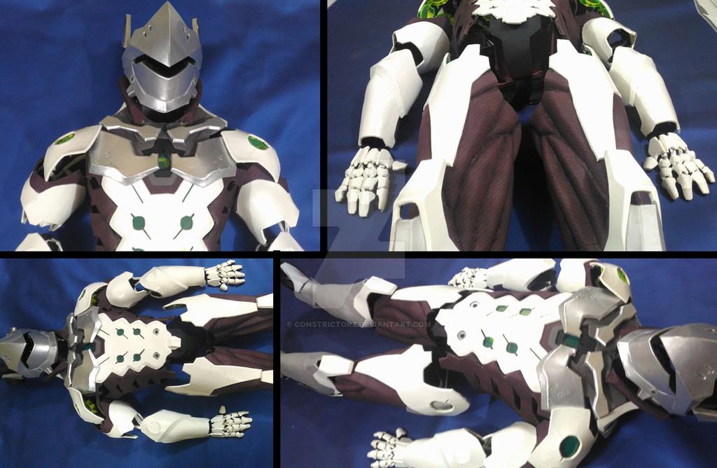 Genji Armor WIP by Constrictorz