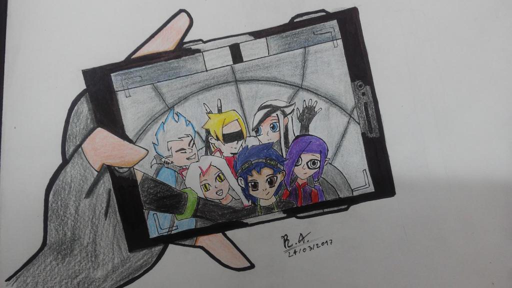 Selfie!! by RoseInArtic