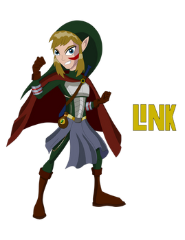 Link (Teen Titans Style)