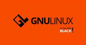 GNULinux is the New Black | Free 4K Wallpaper