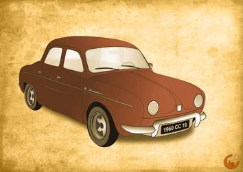 Renault Dauphine by jb155