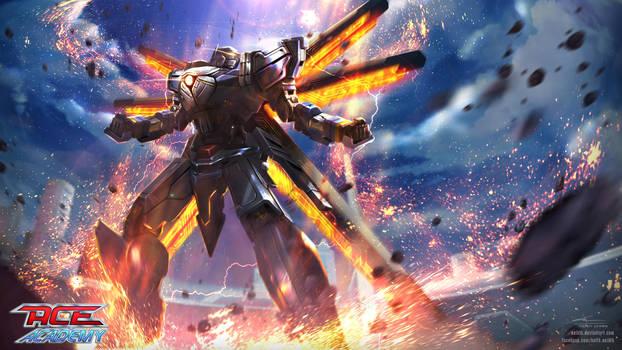 ACE Academy CG: Eagle's Burst System