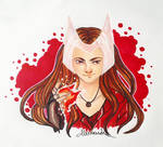 Scarlet Witch by alesan94