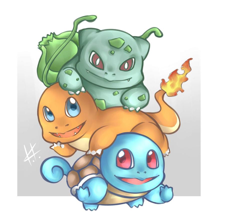 Pokemon - 3 in 1 by CJashella