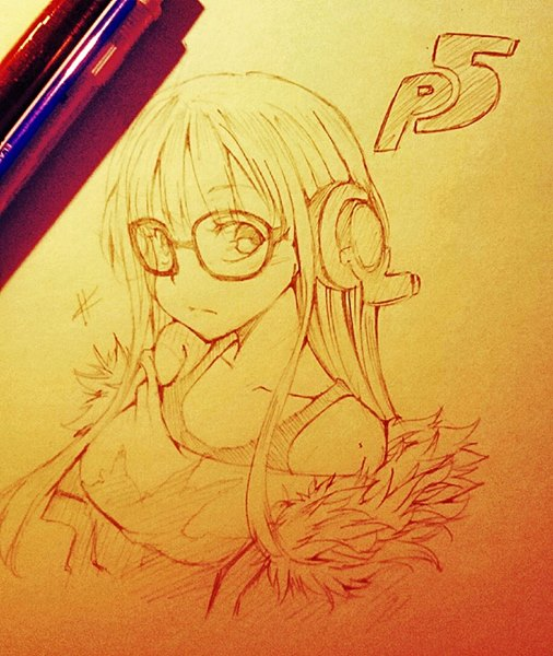 Persona 5 - Futaba Sakura by CJashella