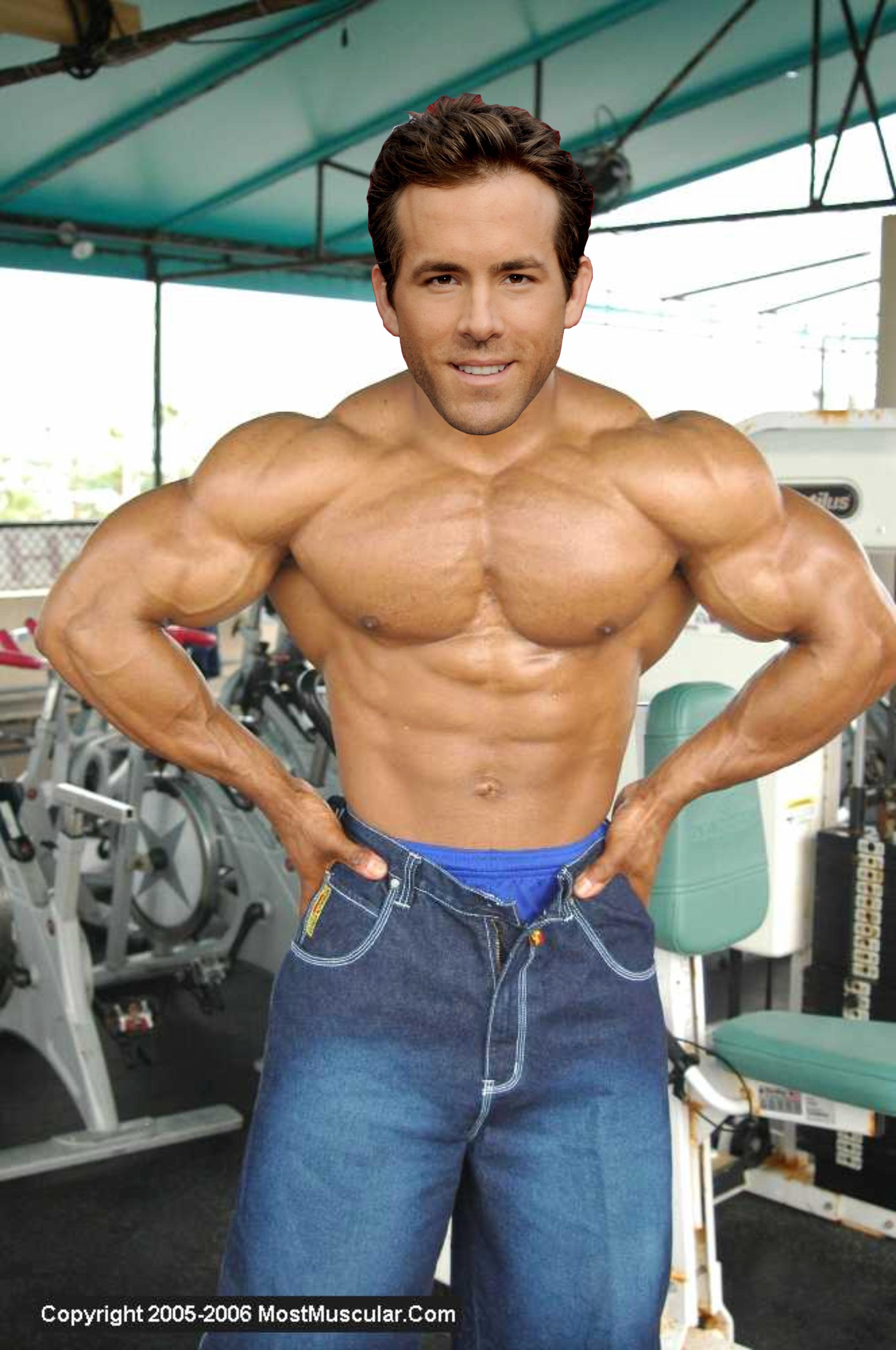 Muscle Morph: Ryan Reynolds 6 by doryfan1 on DeviantArt